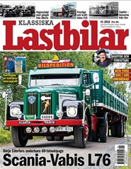 Tidningen Klassiska Lastbilar 18 nummer