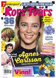 Tidningen Kors & Tvärs 9 nummer