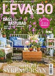 Tidningen LEVA & BO 52 nummer