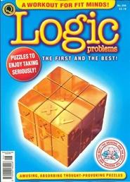 Tidningen Logic Problems 12 nummer