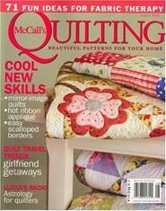 Tidningen Mccall's Quilting 6 nummer