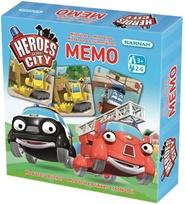 Tidningen Memo Stadens hjältar - Memoryspel 1 nummer