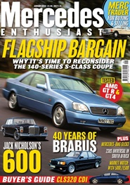 Tidningen Mercedes Enthusiast 12 nummer
