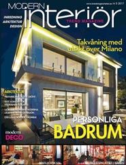 Tidningen Modern Interiör 3 nummer