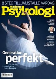 Tidningen Modern Psykologi 12 nummer