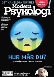 Tidningen Modern Psykologi 2 nummer