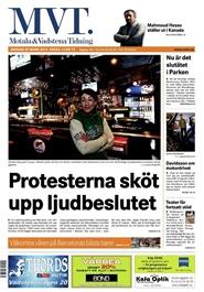 Tidningen Motala & Vadstena Tidning 90 nummer