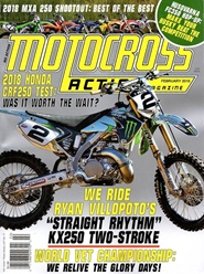 Tidningen Motocross Action 12 nummer
