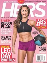 Tidningen Muscle & Fitness Hers 4 nummer