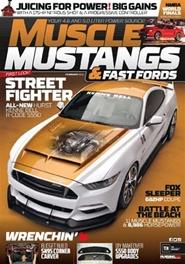 Tidningen Muscle Mustangs & Fast Fords 12 nummer