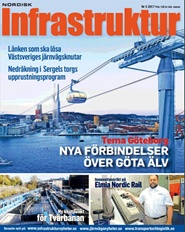 Tidningen Nordisk Infrastruktur 3 nummer