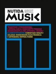 Tidningen Nutida Musik 4 nummer