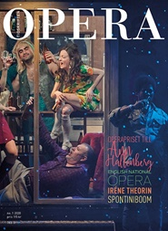Tidningen OPERA 3 nummer