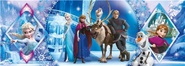 Tidningen Frozen/Frost Panorama Pussel, 1000 bitar 1 nummer