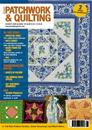 Tidningen Patchwork And Quilting 12 nummer