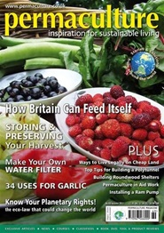 Tidningen Permaculture Magazine 4 nummer