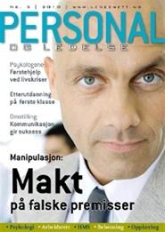 Tidningen Personal og ledelse 8 nummer