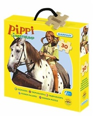 Tidningen Pippi Askpussel 20 bitar 1 nummer