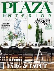 Tidningen Plaza Interiör 20 nummer