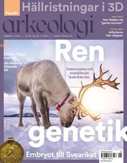 Tidningen Populär Arkeologi 3 nummer