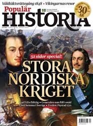 Tidningen Populär Historia 6 nummer