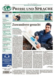 Tidningen Presse Und Sprache 12 nummer