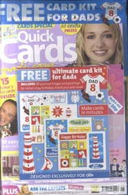 Tidningen Quick Cards Made Easy 13 nummer
