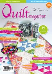 Tidningen Quiltmagasinet 6 nummer