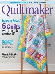 Tidningen Quiltmaker 6 nummer