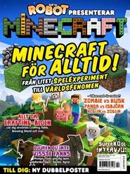 Tidningen Robot presenterar Minecraft 4 nummer