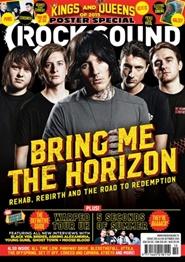 Tidningen Rock Sound 13 nummer