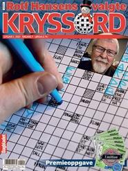 Tidningen Rolf Hansen Kryss 12 nummer
