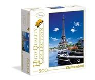Tidningen Romantic Promenade In Paris Kvadratisk pussel, 500 bitar 1 nummer