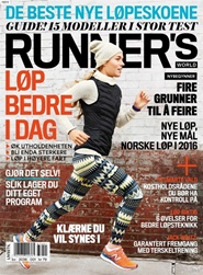 Tidningen Runners World - Norsk (Norway Edition) 3 nummer