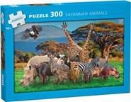 Tidningen Savannah Animals Pussel 300 bitar 1 nummer