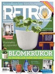 Tidningen Scandinavian Retro 6 nummer