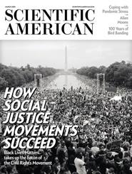 Tidningen Scientific American 36 nummer