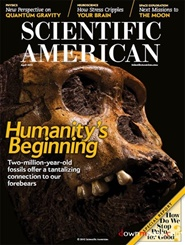 Tidningen Scientific American  12 nummer