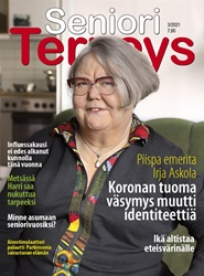 Tidningen SenioriTerveys 8 nummer