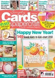 Tidningen Simply Cards & Papercraft 12 nummer