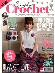 Tidningen Simply Crochet 13 nummer