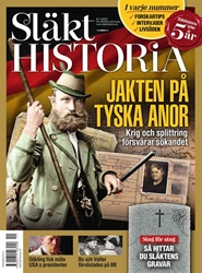 Tidningen Släkthistoria 3 nummer