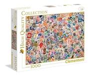 Tidningen Stamps / Frimärken Pussel, 1000 bitar 1 nummer