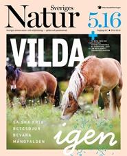 Tidningen Sveriges Natur 5 nummer