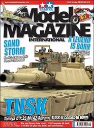 Tidningen Tamiya Model Magazine 12 nummer