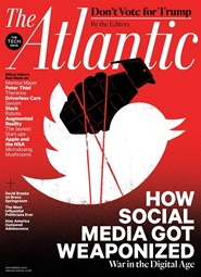 Tidningen The Atlantic Monthly 10 nummer