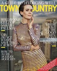 Tidningen Town & Country 9 nummer