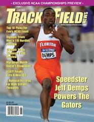 Tidningen Track & Field News 12 nummer
