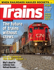 Tidningen Trains Magazine 12 nummer