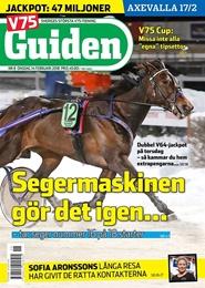 Tidningen V75 Guiden 15 nummer